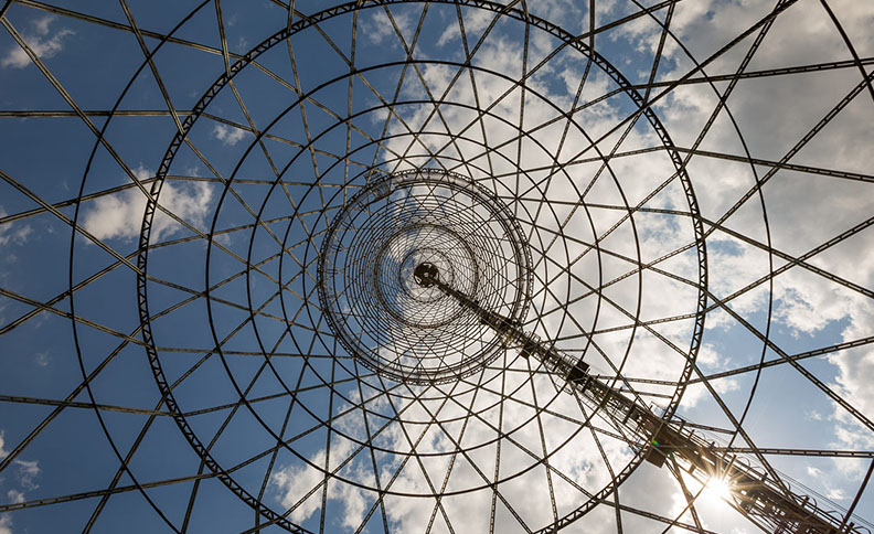 Shukhov Tower, Moscow, Russia