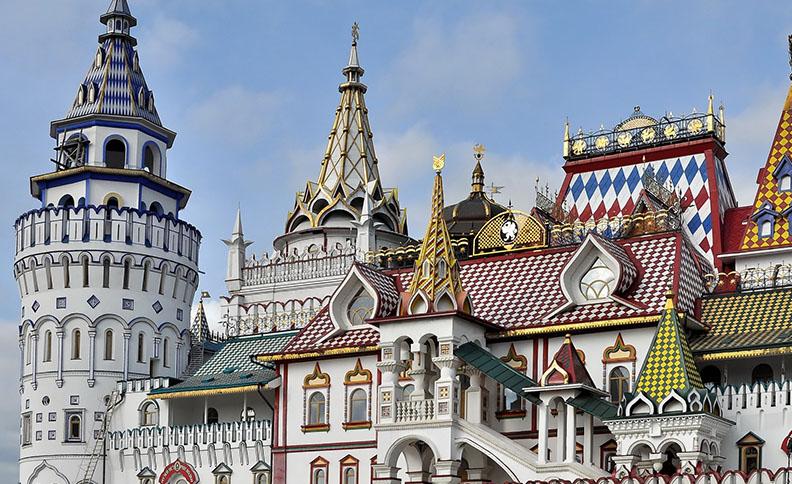 Izmailovo Kremlin, Moscow, Russia