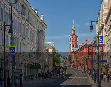 Moscow routes