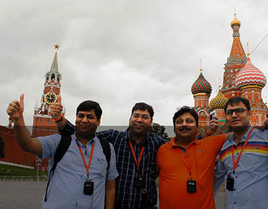 Moscow tours for Indians