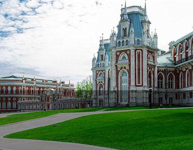 Tsaritsyno Park & Palace, Moscow, Russia