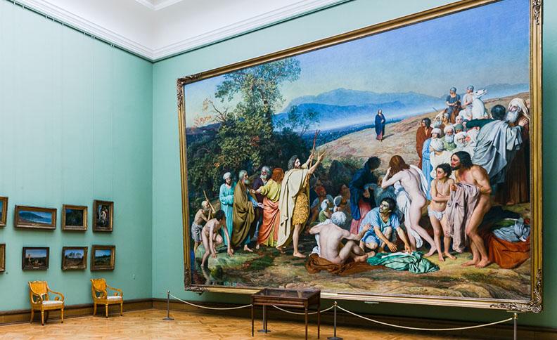 Tretyakov gallery, Moscow, Russia