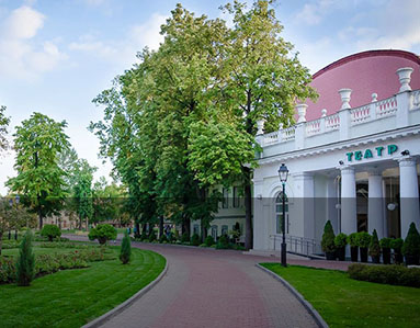 Moscow Hermitage Garden, Russia