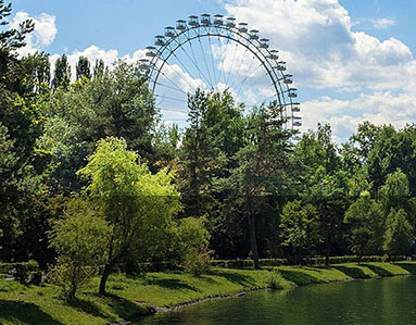 Izmailovsky Park, Moscow, Russia