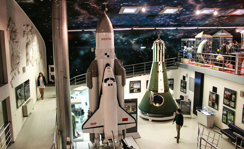 Space Museum, Moscow, Russia