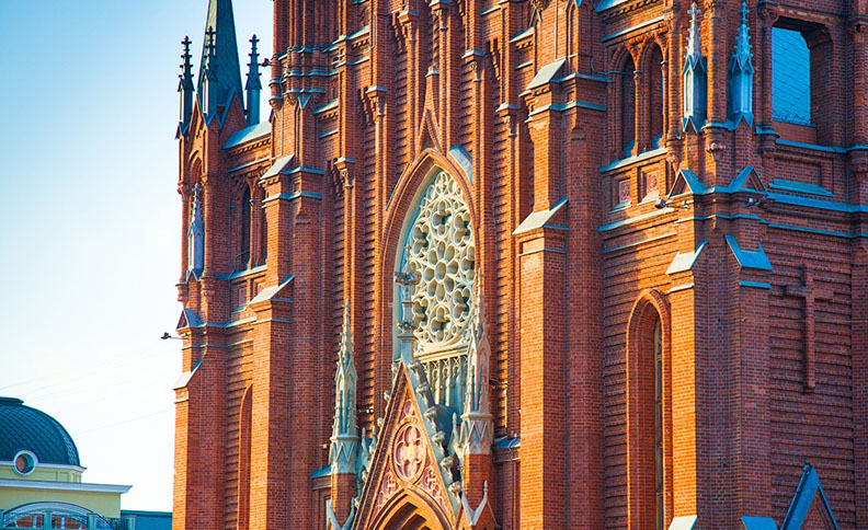 Cathedral of the Immaculate Conception of the Holy Virgin Mary, Moscow, Russia