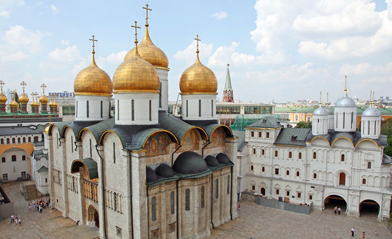 Dormition (Assumption) Cathedral, Moscow, Russia