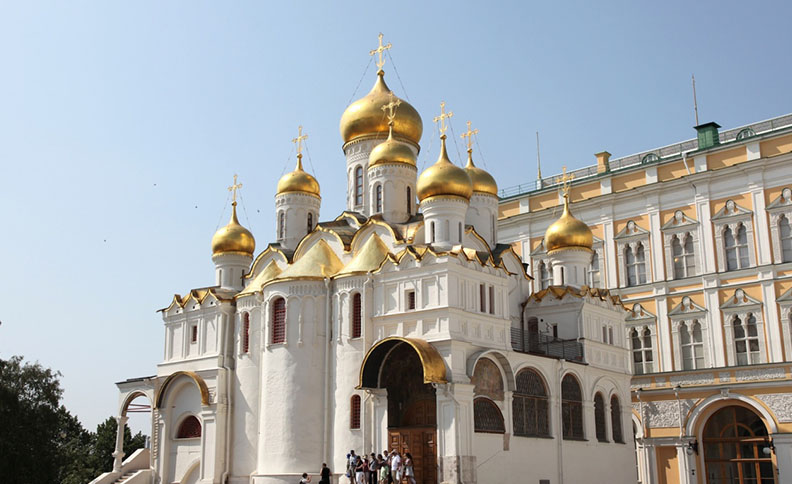 Annunciation Cathedral, Moscow, Russia