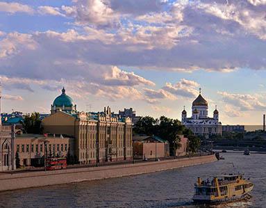 Sophia Embankment, Moscow, Russia
