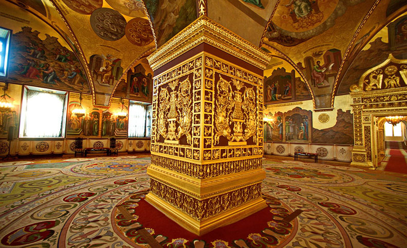 Palace of Facets, Moscow Kremlin, Russia