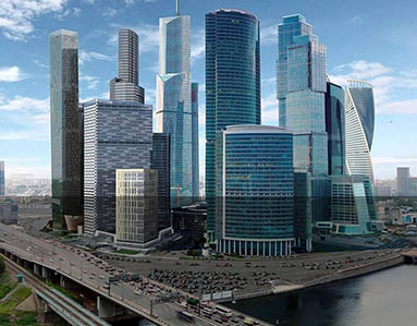 Moscow City, Moscow, Russia